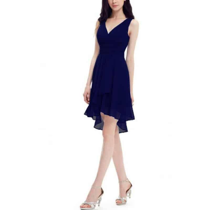 Официална рокля от шифон - EvizaBG